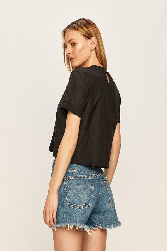 Tommy Jeans - Blúzka  55% Bavlna, 45% Polyester
