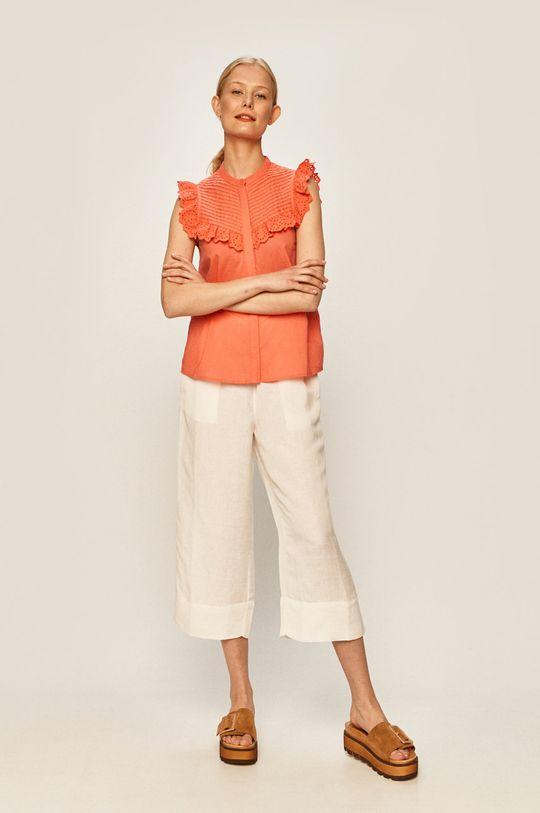Vero Moda - Bluzka ostry różowy