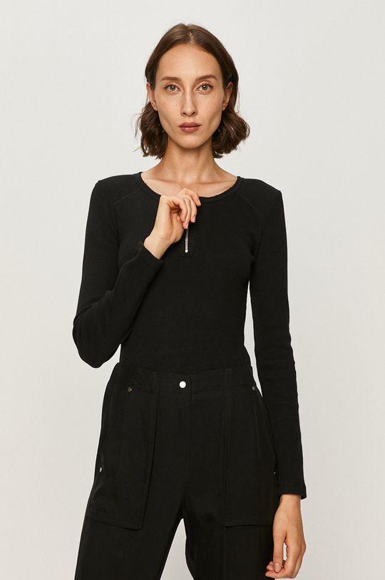 černá AllSaints - Tričko s dlouhým rukávem Alicia Dámský