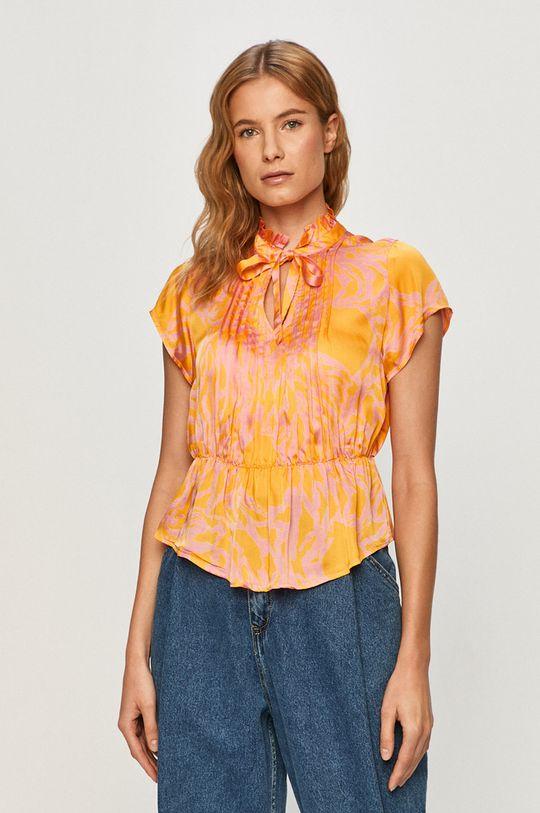 pomarańczowy Vero Moda - Bluzka Damski