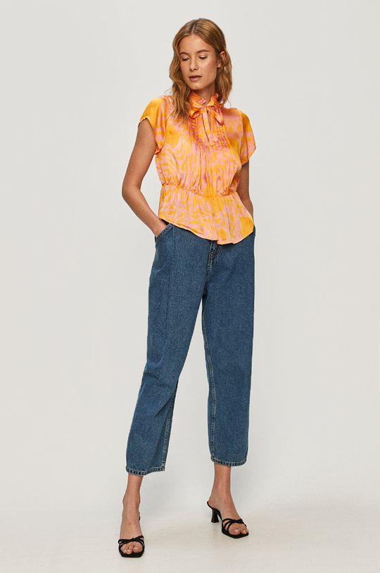 Vero Moda - Bluzka pomarańczowy