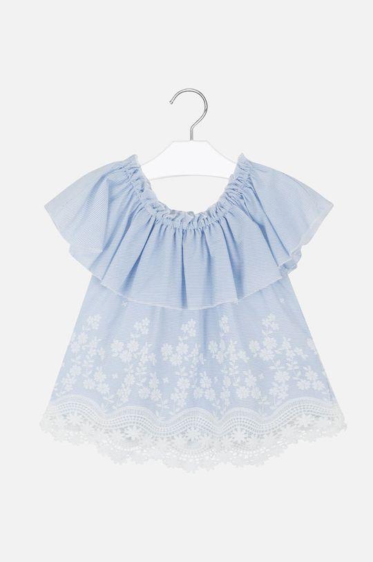 Mayoral - Bluza copii 128-167 cm albastru deschis