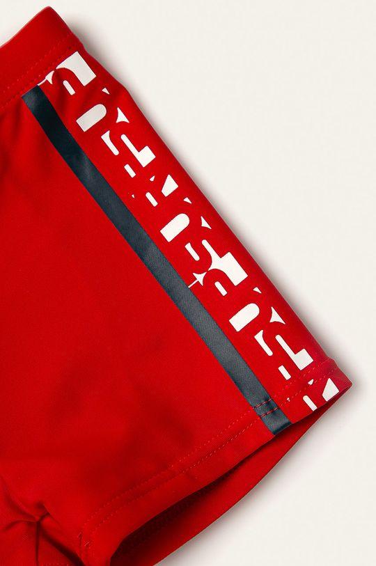 Name it - Dětské plavky 86-116 cm červená