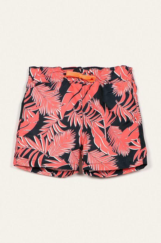 korálová Name it - Dětské plavkové šortky 92-122 cm Chlapecký