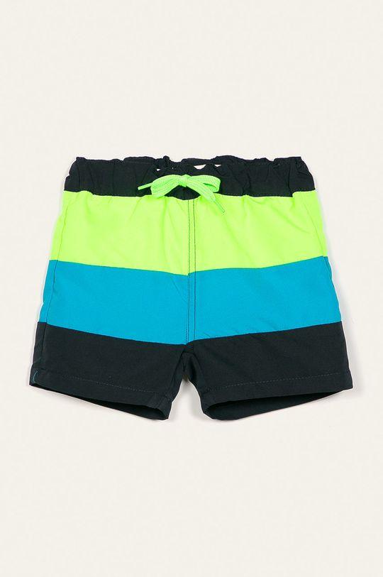 žlutě zelená Name it - Dětské plavkové šortky 92-122 cm Chlapecký