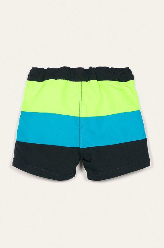 Name it - Dětské plavkové šortky 92-122 cm žlutě zelená