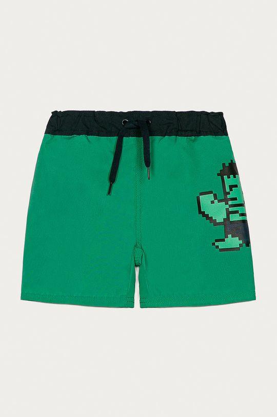 zelená Name it - Dětské plavky 80-110 cm Chlapecký