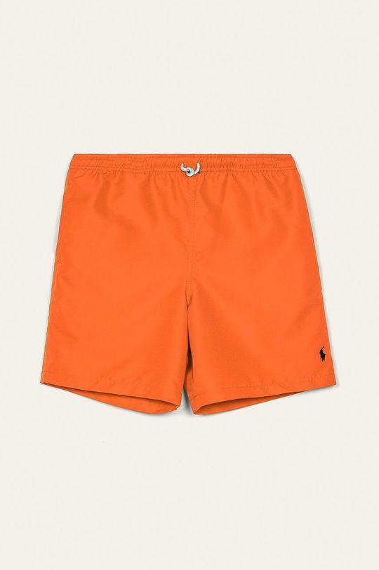 oranžová Polo Ralph Lauren - Dětské plavkové šortky 134-176 cm Chlapecký