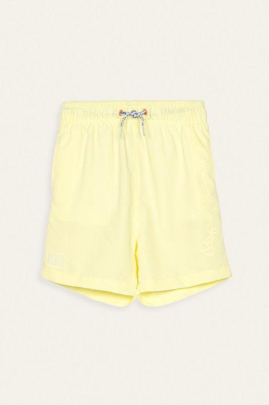 galben deschis Pepe Jeans - Pantaloni scurti de baie copii Guido II De băieți