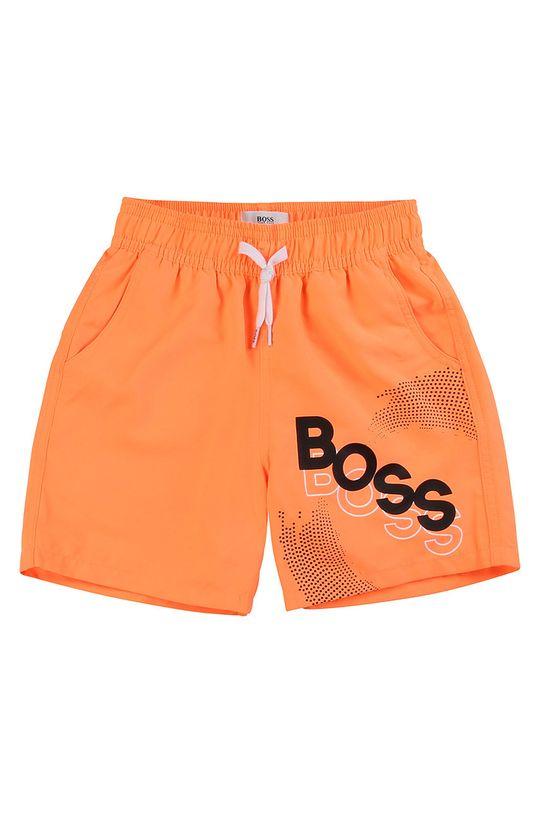 oranžová Boss - Dětské plavkové šortky 116-152 cm Chlapecký
