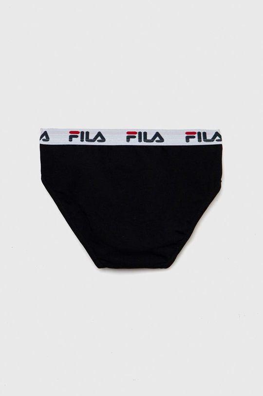 Fila - Dětské boxerky 125-157 cm černá