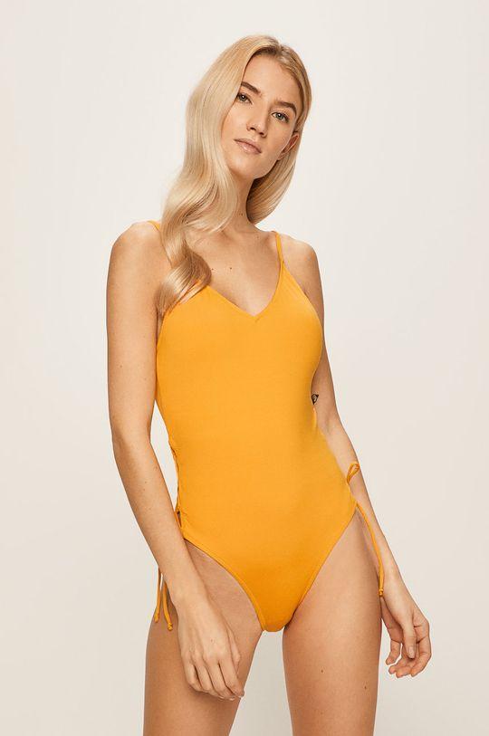 žlutá Pieces - Plavky Dámský