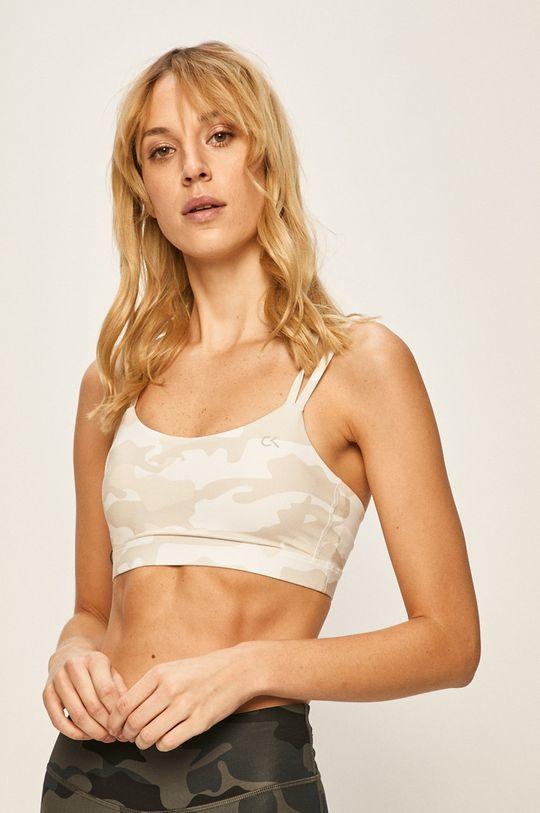 bílá Calvin Klein Performance - Sportovní podprsenka Dámský