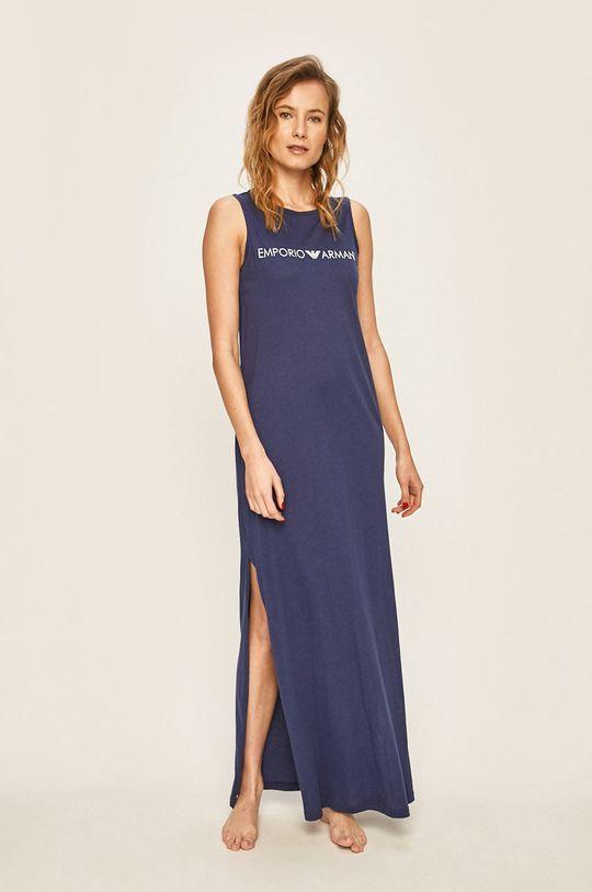 niebieski Emporio Armani - Sukienka plażowa Damski