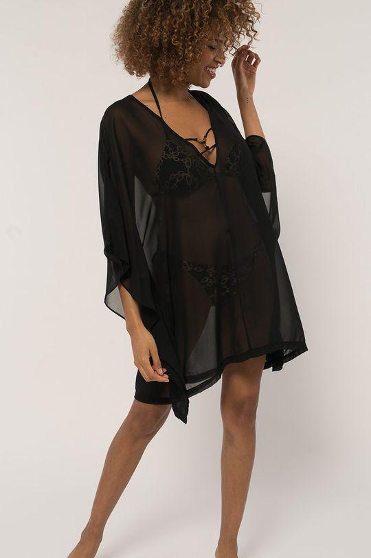 Dorina - Camasa de plaja Kaftan negru