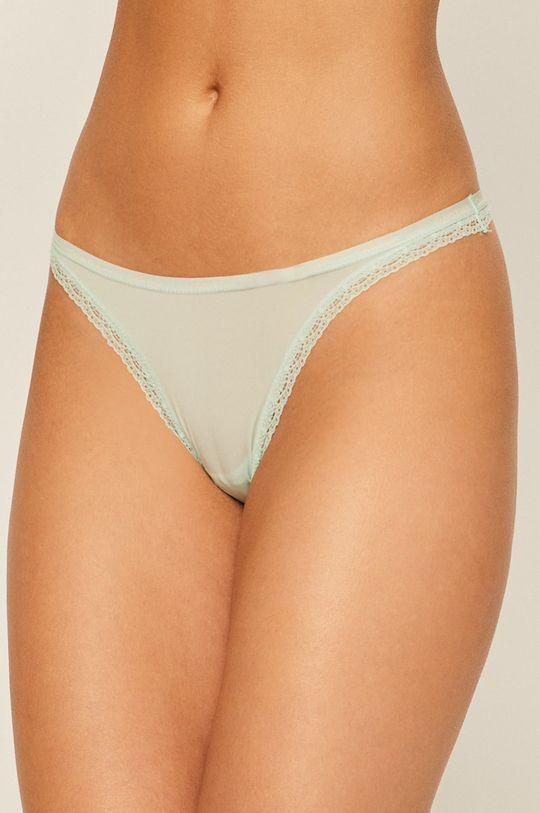 mátová Calvin Klein Underwear - tanga Dámský