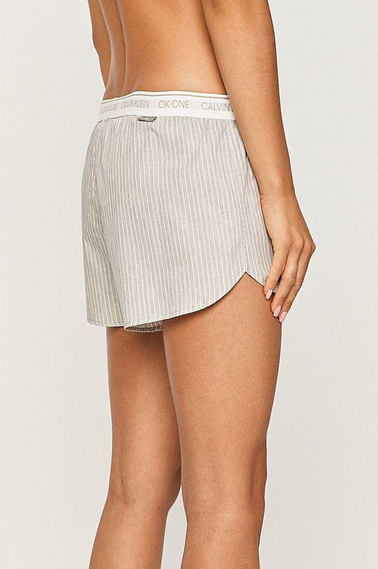Calvin Klein Underwear - Pantaloni scurti de pijama gri deschis