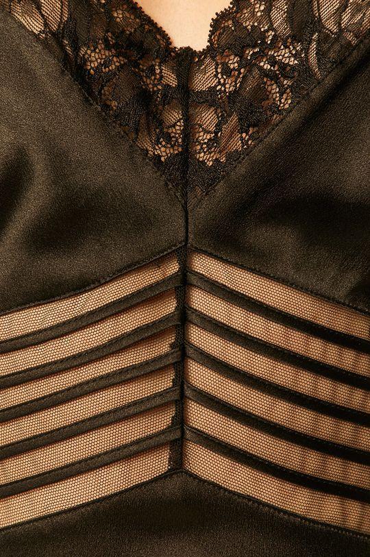 černá Calvin Klein Underwear - Noční košilka