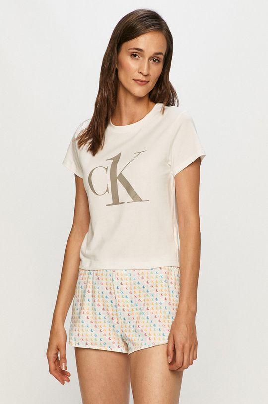 bílá Calvin Klein Underwear - Pyžamo Dámský