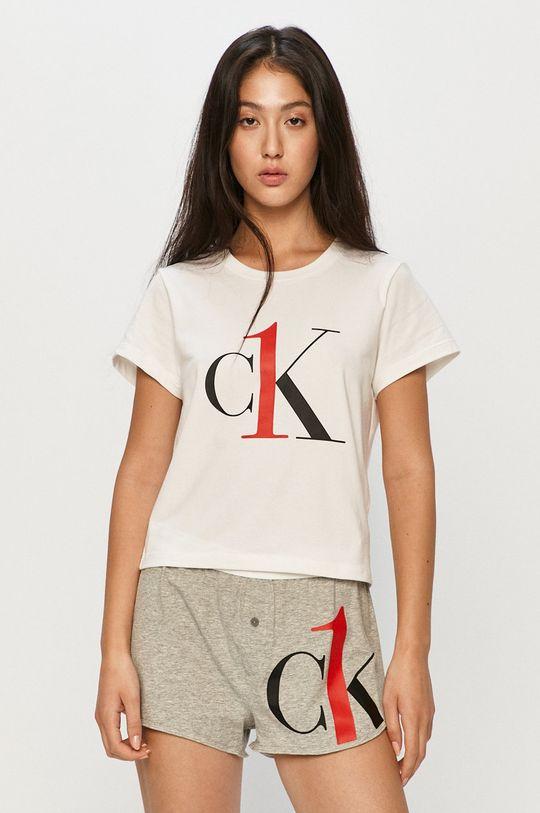 světle šedá Calvin Klein Underwear - Pyžamo Dámský