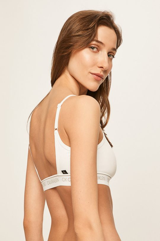 Calvin Klein Underwear - Podprsenka CK One biela