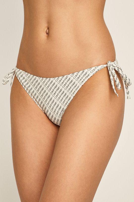 bílá Calvin Klein - Plavkové kalhotky Dámský