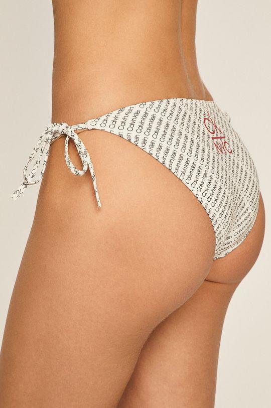 Calvin Klein - Plavkové kalhotky bílá