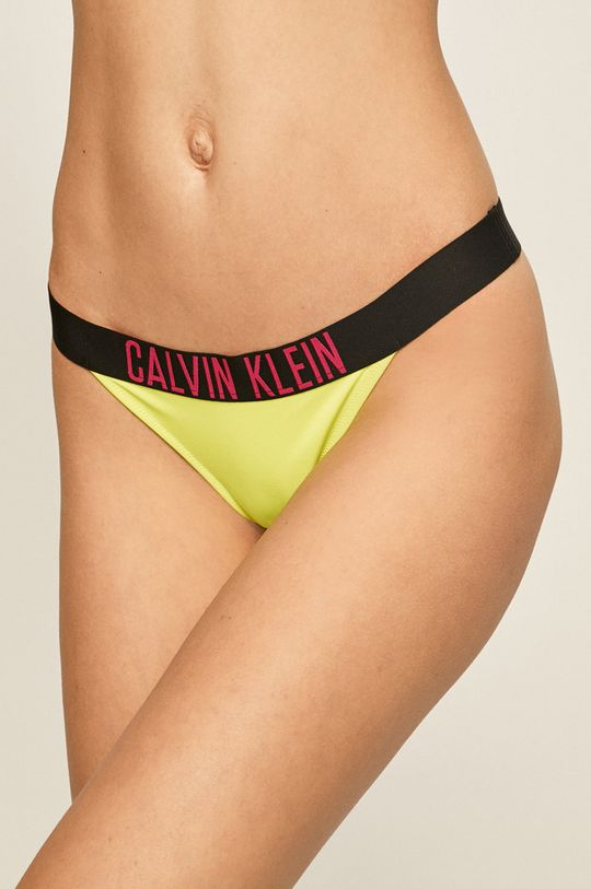 žlutá Calvin Klein - Plavkové kalhotky Dámský