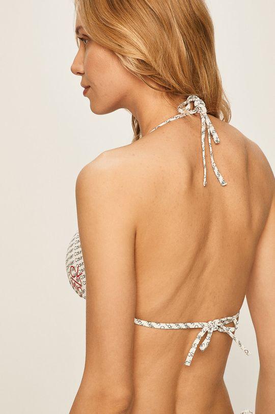 Calvin Klein - Plavková podprsenka bílá