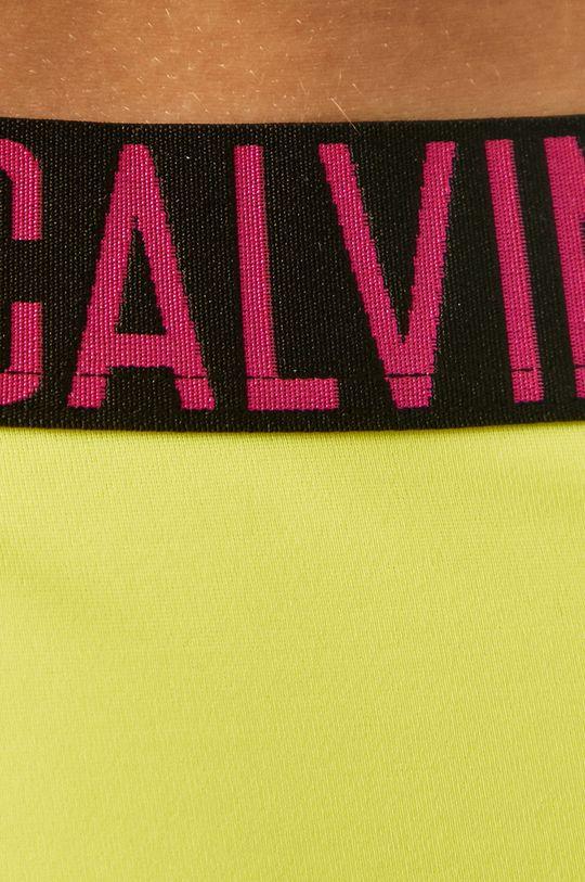 žlutá Calvin Klein - Plavkové kalhotky