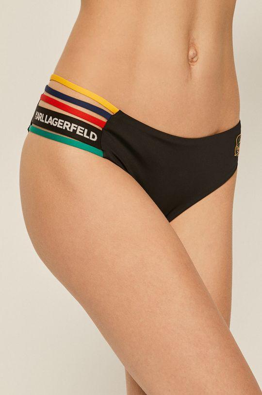 czarny Karl Lagerfeld - Figi kąpielowe Damski
