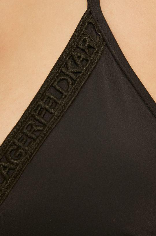Karl Lagerfeld - Plavková podprsenka  18% Elastan, 82% Polyamid