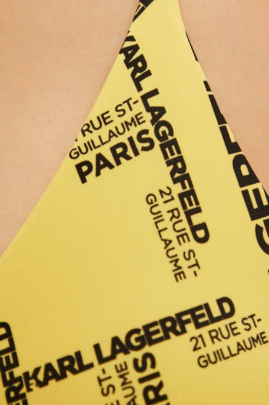 світло-жовтий Karl Lagerfeld - Купальний бюстгальтер