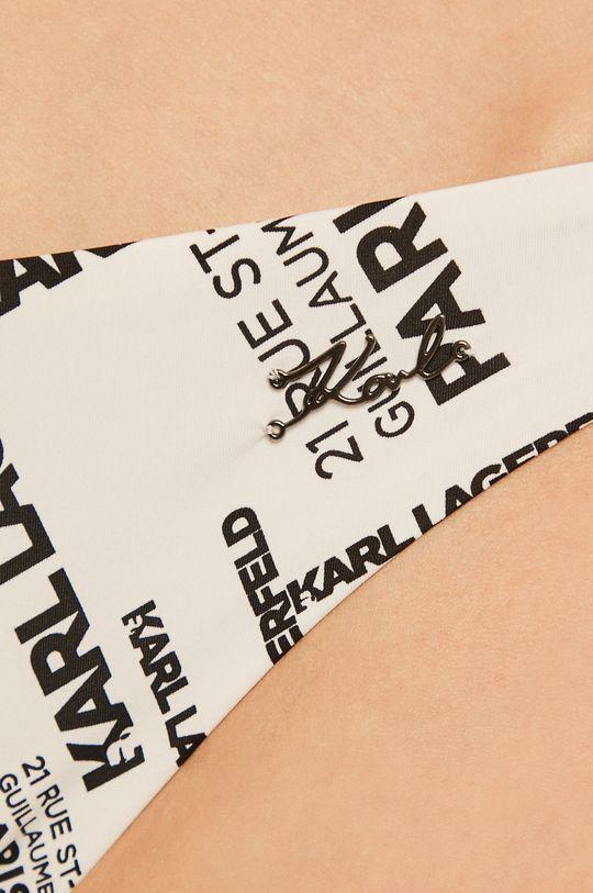 biały Karl Lagerfeld - Figi kąpielowe