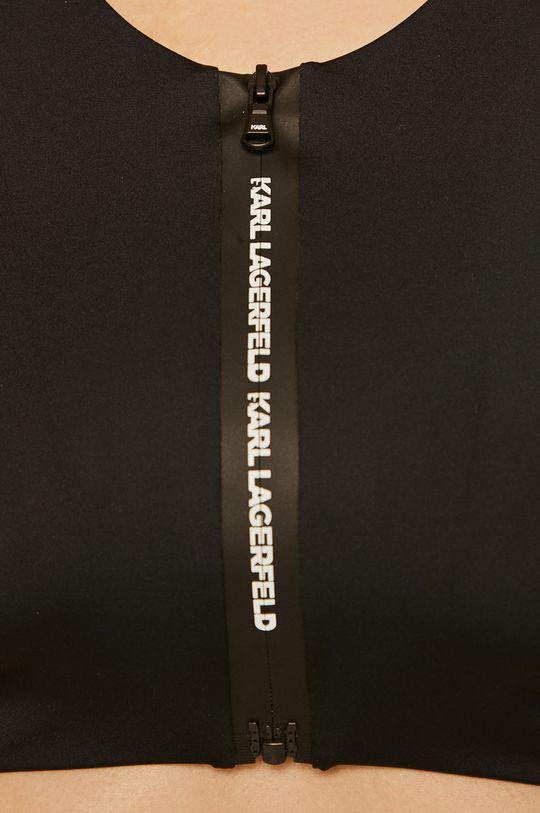 czarny Karl Lagerfeld - Biustonosz kąpielowy