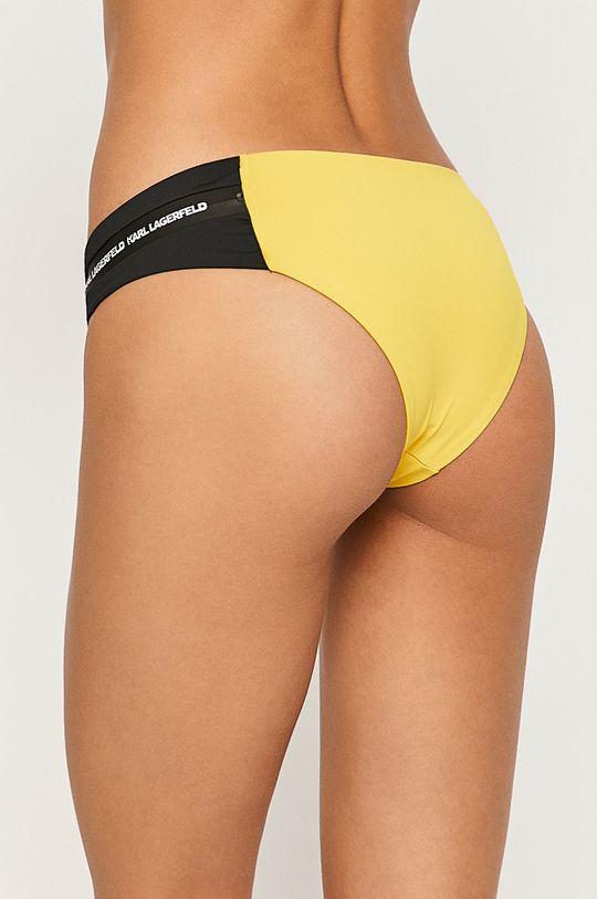 Karl Lagerfeld - Plavkové kalhotky žlutá
