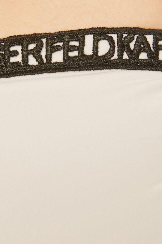 biały Karl Lagerfeld - Biustonosz kąpielowy