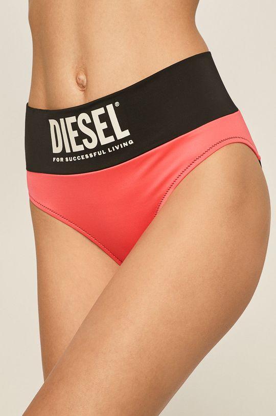 ostrá růžová Diesel - Plavkové kalhotky Dámský