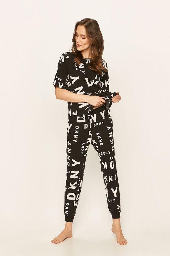 Dkny - Spodnie piżamowe czarny