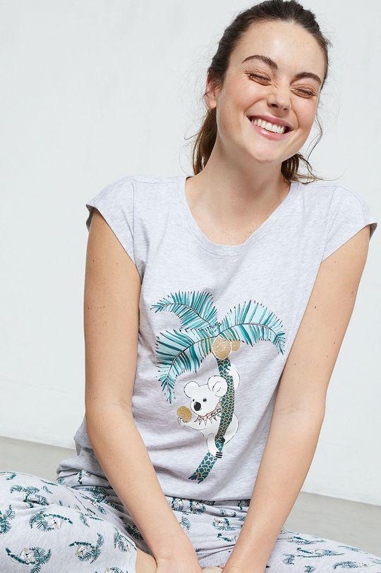 sivá Etam - Pyžamové tričko Laurine Dámsky