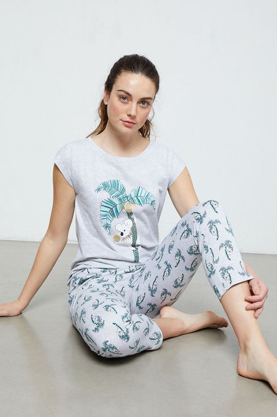 sivá Etam - Pyžamové tričko Laurine