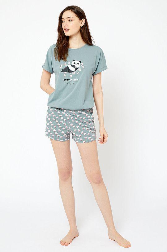 Etam - Pyžamové šortky Jade olivová
