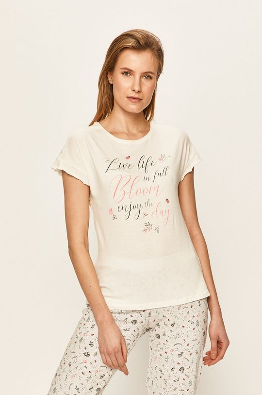 Henderson Ladies - Pyžamo krémová