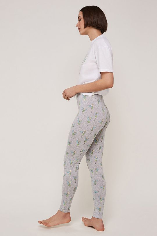 Undiz - Colanti de pijama Feeclochiz gri deschis