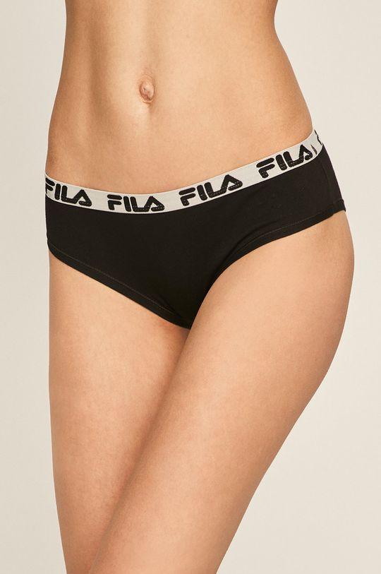 czarny Fila - Figi Damski