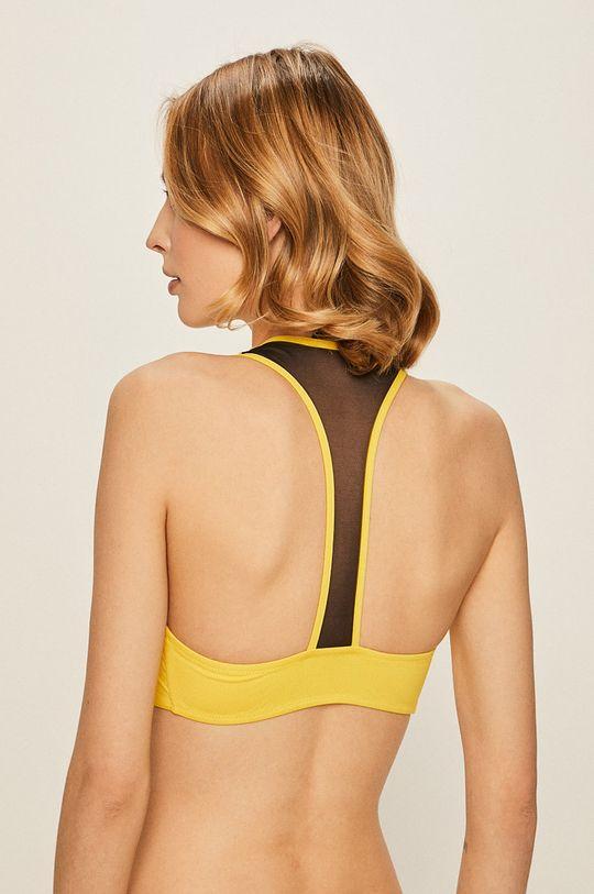 Karl Lagerfeld - Biustonosz kąpielowy żółty