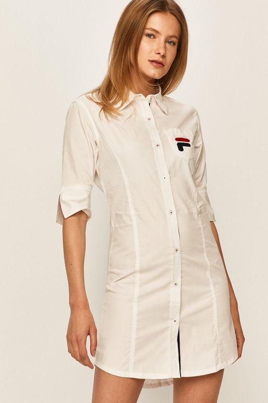 biały Fila - Koszula nocna