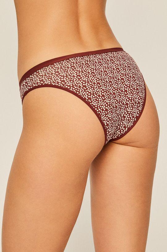 Atlantic - Kalhotky (2-pack) mahagonová