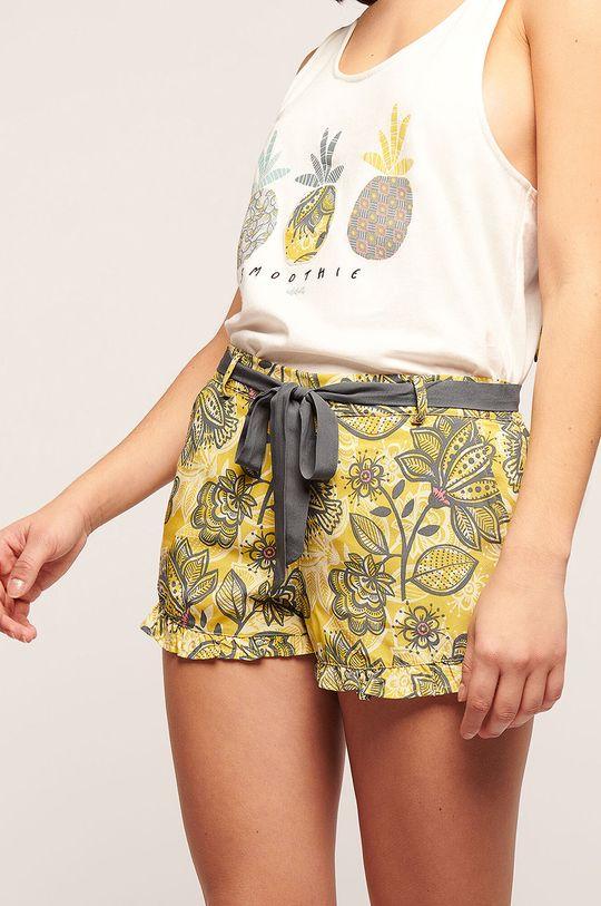 žlutá Etam - Pyžamové šortky Kriscilla Dámský