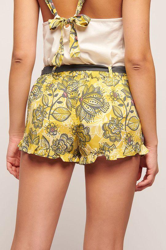 žlutá Etam - Pyžamové šortky Kriscilla